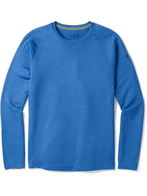 Smartwool Merino 150 Baselayer Pattern Ondergoed bovenlijf Heren blauw